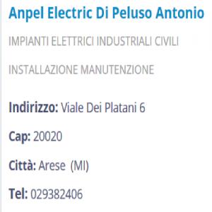 Ampel Elettric - Impianti elettrici  - Arese