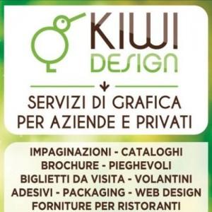 Kiwi Design - Servizi di grafica - Pertusella