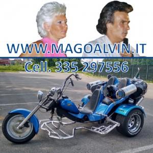 Mago Alvin e la sua magica moto