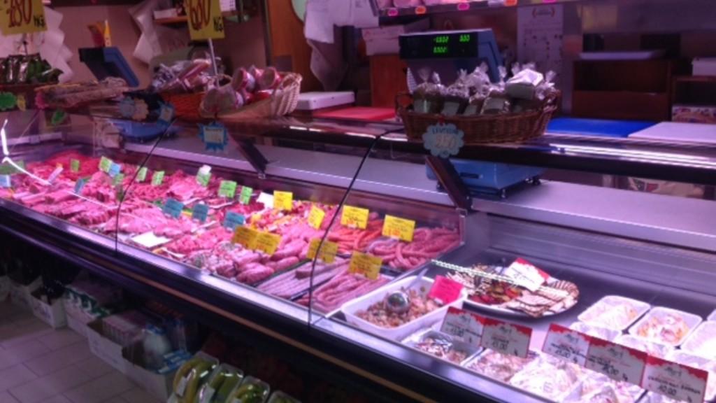 Carni scelte e piatti pronti