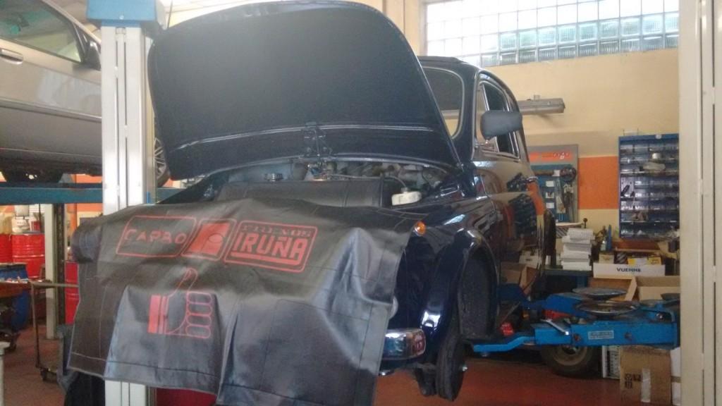 Fiat 500 al check-up