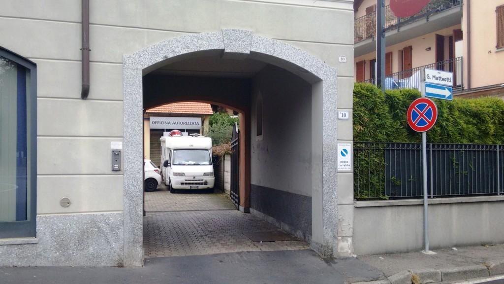 Ingresso Autofficina Forloni
